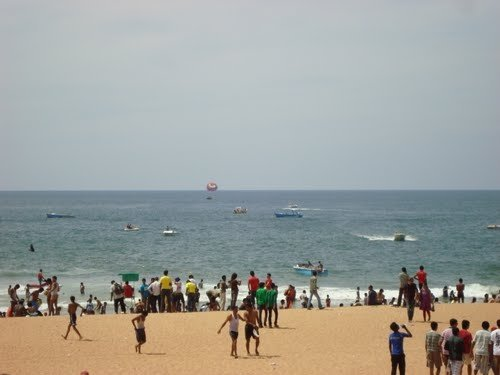Watersports in Goa on Baga beach