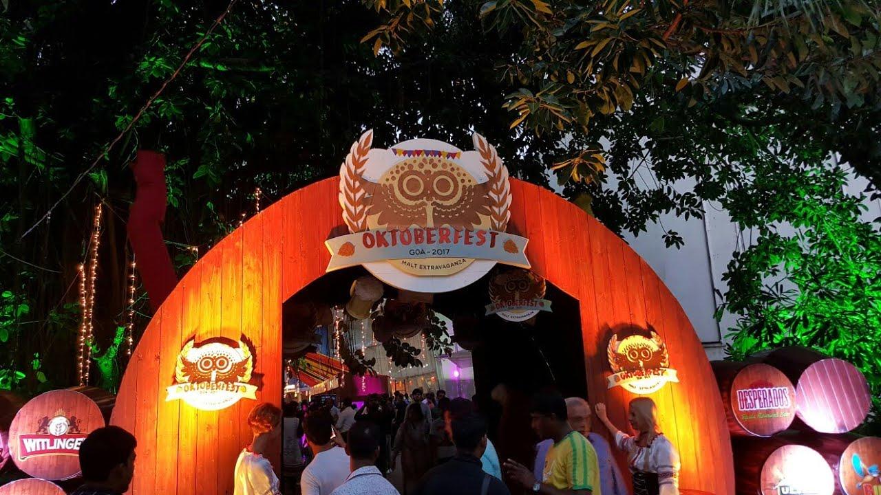 Oktoberfest in Baga Goa