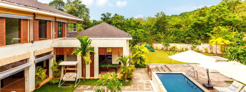 Villas in Goa for rent
