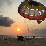 benaulim goa beach hotel sunset summer holi