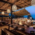anjuna india goa season food sunset vagator lights beautiful