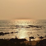 vagator india goa nature sunset beautiful