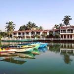@instagram: Along the Baga River ???????? #india #goa #arpora #baga #boatsboatsboats