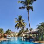 benaulim india goa hotel nature trees