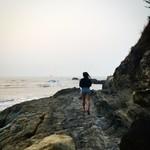 @instagram: #vagator #vagatorbeach #rocks #goa #travelindia #goanature