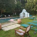 @instagram: Out back at Vivenda dos Palhacos #india #goa #majorda #vivendadospalhacos #bungalow #goan