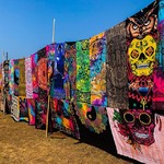 @instagram: All the colours of the rainbow ????  #Goa #AnjunaMarket #Anjuna #India #colourful #colours #vibrant #FleaMarket #Travelgram #instatravel #goexplore
