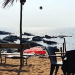 @instagram: Shack: check. #anjuna #baga #goa #strand #sonne #meer #lassi