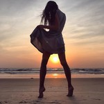 @instagram: сияй и ты.  #wildchild #ocean #india #sunset #cavelossim #cavelossimbeach #southgoa #goalife #