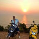 @instagram: #калугинтрэвел #анджуна #гоа #закат #индия #anjuna #goa #sunset #india