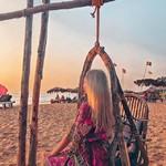 @instagram: Провожаем закат❣️#goa#sunset#candolim