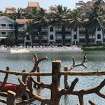 @instagram: For those of you interested in bird watching, the dock at lake 2 is a nice relaxing spot for birds????#resortemarinhadourada #marinhadourada #birds#kingfisher#nature#lake#arpora#goa#sunny#serene#birdwatching