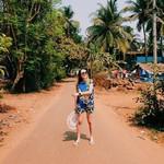 colva india goa beach