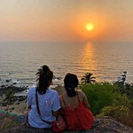 arambol goa nature sunset