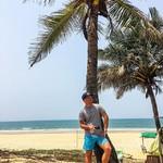@instagram: Пляжи на Гоа ???? ⠀ Пляжи Южного Гоа — все пляжи южнее Панаджи (столицы штата). Сюда относятся Бенолим, Кармона, Варка, Фатрэйд, Агонда, Палолем и др. ⠀ Для краткосрочного отдыха на море в Индии (1-2 недели) имеет смысл выбирать юг штата. ⠀ Здесь чище, че