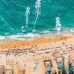 @instagram: #Candolim #beach #aerialshot #instaclick @ashish_shenoy #water #sea #boat #shacks #candolimbeach #bagabeach #arambol #palolem #morjimbeach #morjim #vagator #anjuna #india #incredibleindia #goa #northgoa #instagoa
