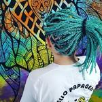 @instagram: Box braids ???????????? Обязательно должны быть длинными?Одной длины? Одного цвета? Да нееееет???????????? Но это не точно???????????? Md:@monika32nika Hair:@braids_cherta Loc:Yuzhno_Sakhalinsk Цвет берюзово-черный создан в ручную, был получен при смешке