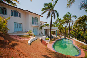 Comfortable 4 bedroom villa in Vagator