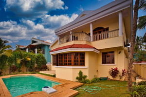 Sunny Hills — Villa for rent in Colva