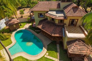 Four Square — Villa for rent in Morjim