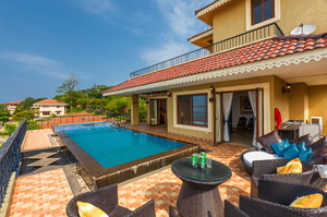 Temple Hill — Luxury villa for rent in Bambolim