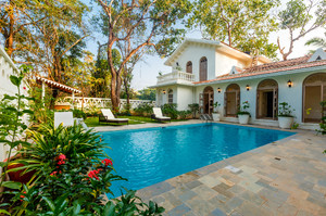Heritage 4 bedroom villa in Vagator