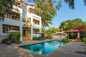 Sol Apartment — Villa for rent in Anjuna