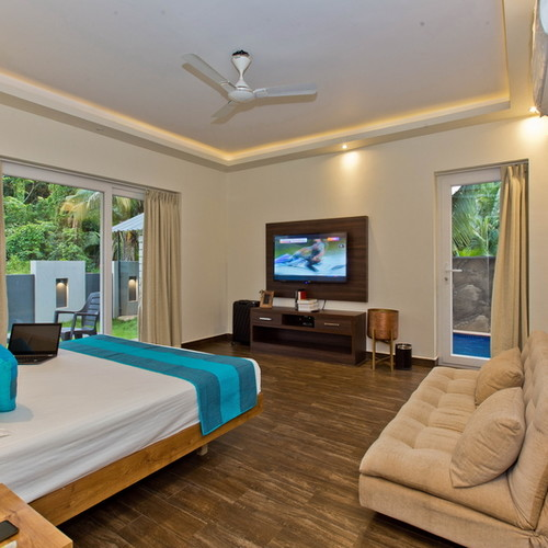 Luxury villa in Anjuna, Goa with private swimming pool