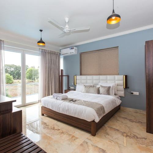 Arpora Villa: bedroom