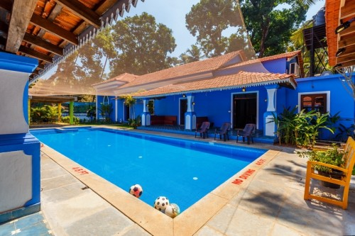 Calangute villa with private swimming pool
