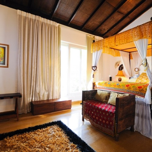 Bedroom of Bollywood Villa