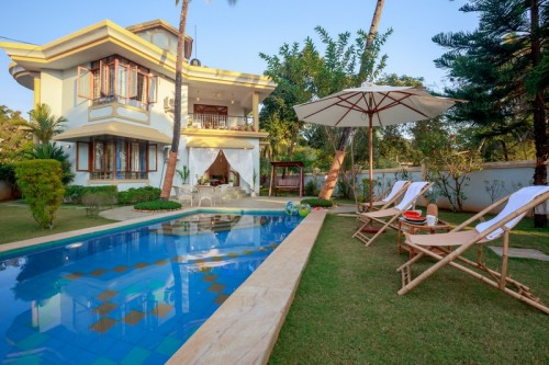 Luxury villa in Colva with private swimming pool