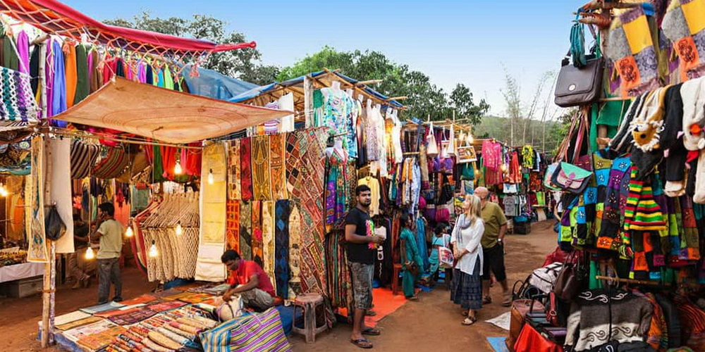 Wednesday Anjuna Flea Market Goa