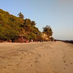Goa Arambol Beach Gallery: Sunset, The Beach, Sweet Lake, Mountains