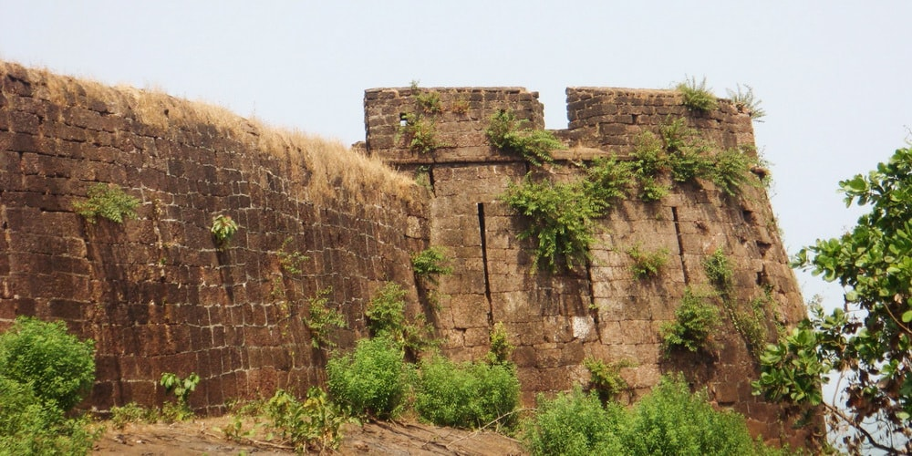 Fort Cabo De Rama in South Goa