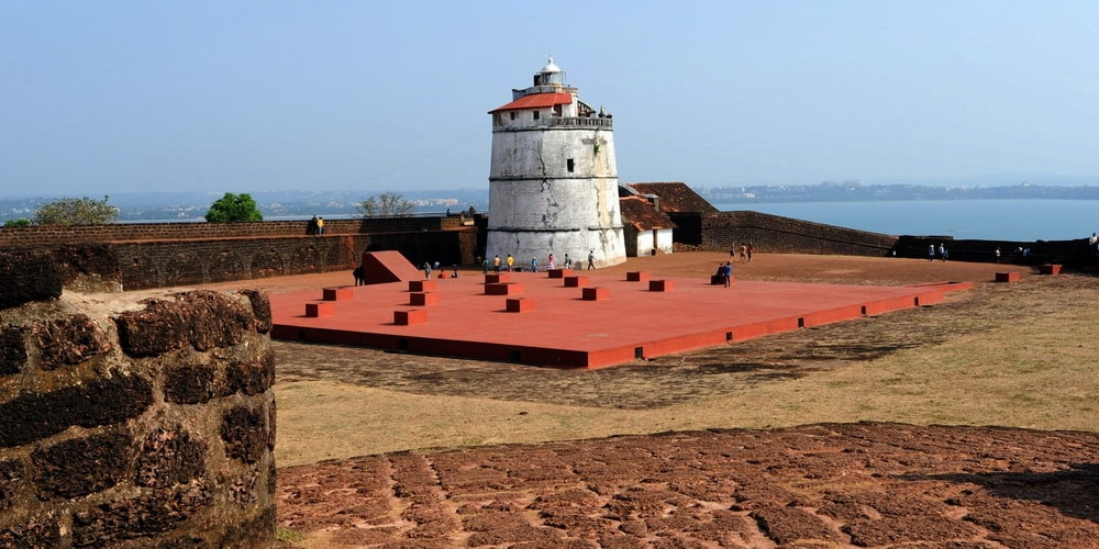 Fort Aguada in North Goa