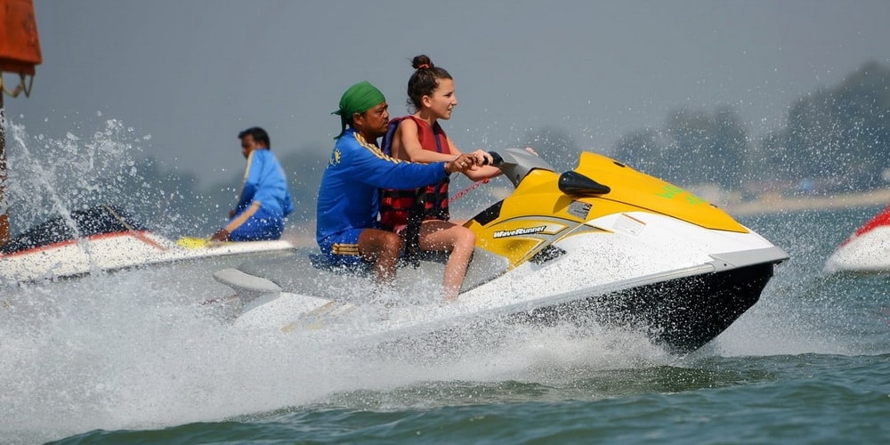 Watersport in Goa
