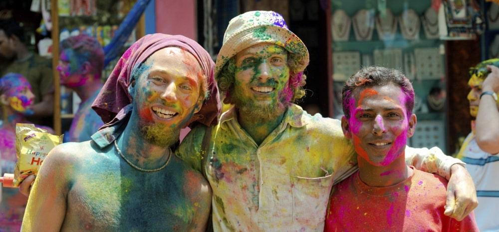 Celebrating Holi In Goa