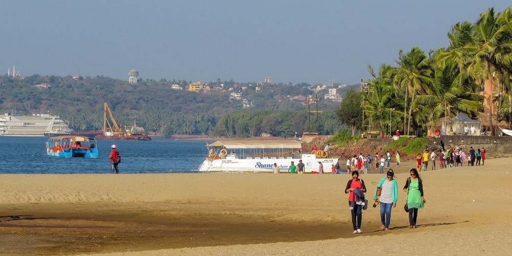 Miramar Beach in Panaji