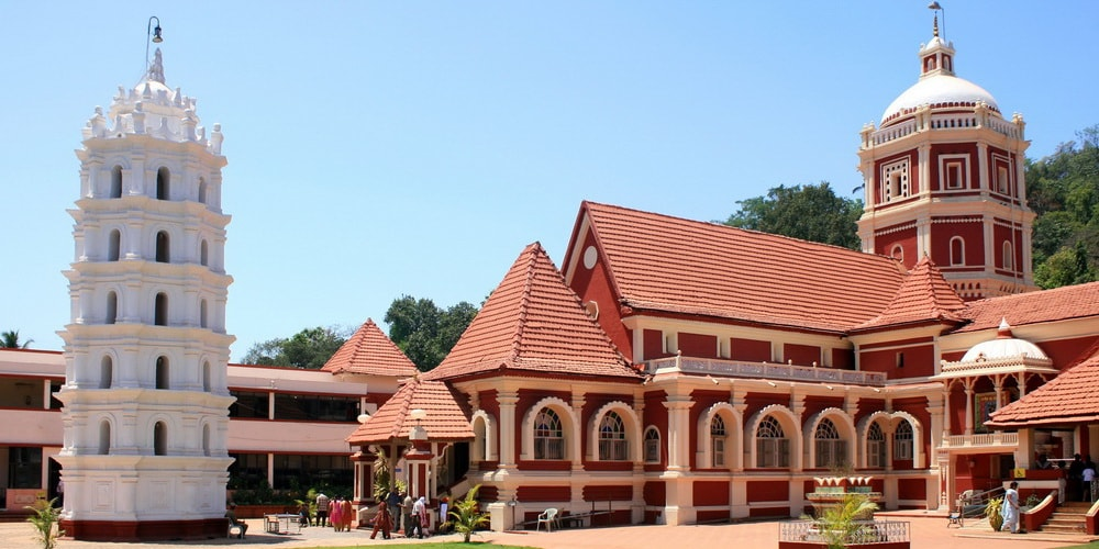 Shree Shanta Durga Temple Cavelossim Goa